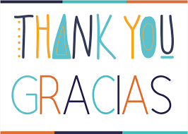 thank you gracias