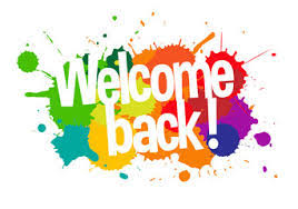 Principal's Blog - Welcome Back!
