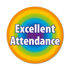 Excellent Attendance Stickers | Good job quotes, Teacher stickers, Work  stickers